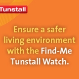 Introducing the next-gen Tunstall Find-Me carers watch